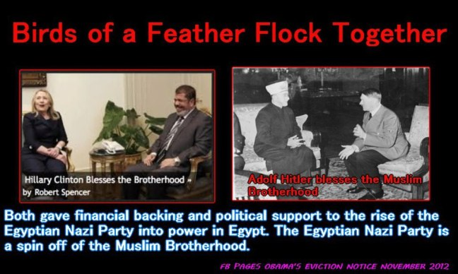 muslim brotherhod and hitler